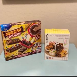 Other - Candy Bar Maker and Mini Ice Cream Sandwich Maker